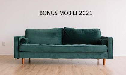 Bonus mobili 2021